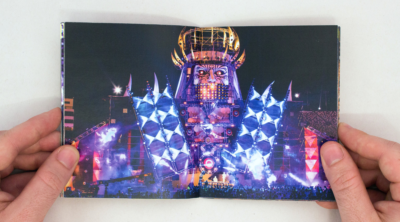 Electric Daisy Carnival Book Design and Art Direction
