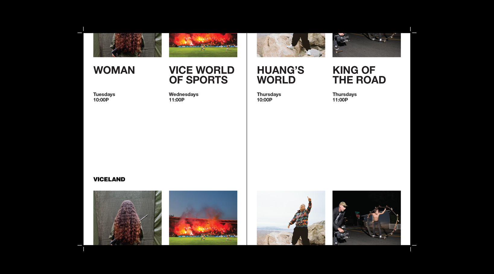 Vice Magazine Editorial Design and Art Direction