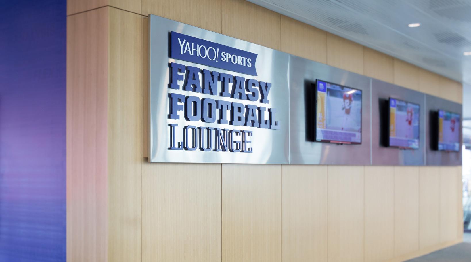 Yahoo Fantasy Football Lounge Design
