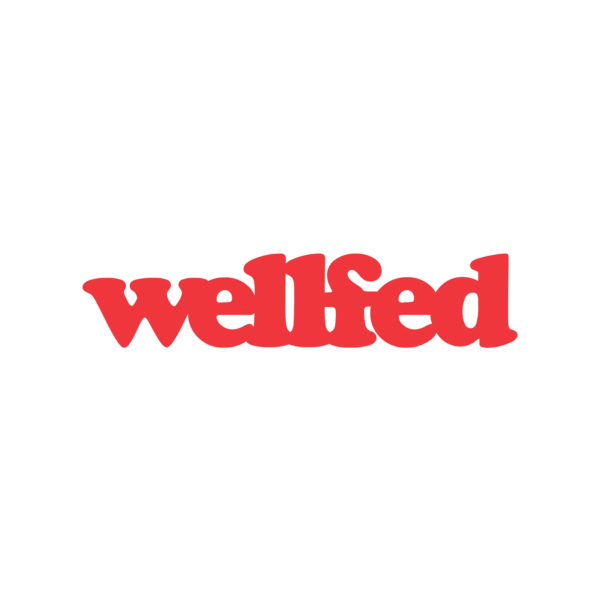 Wellfed Brand Design Logo