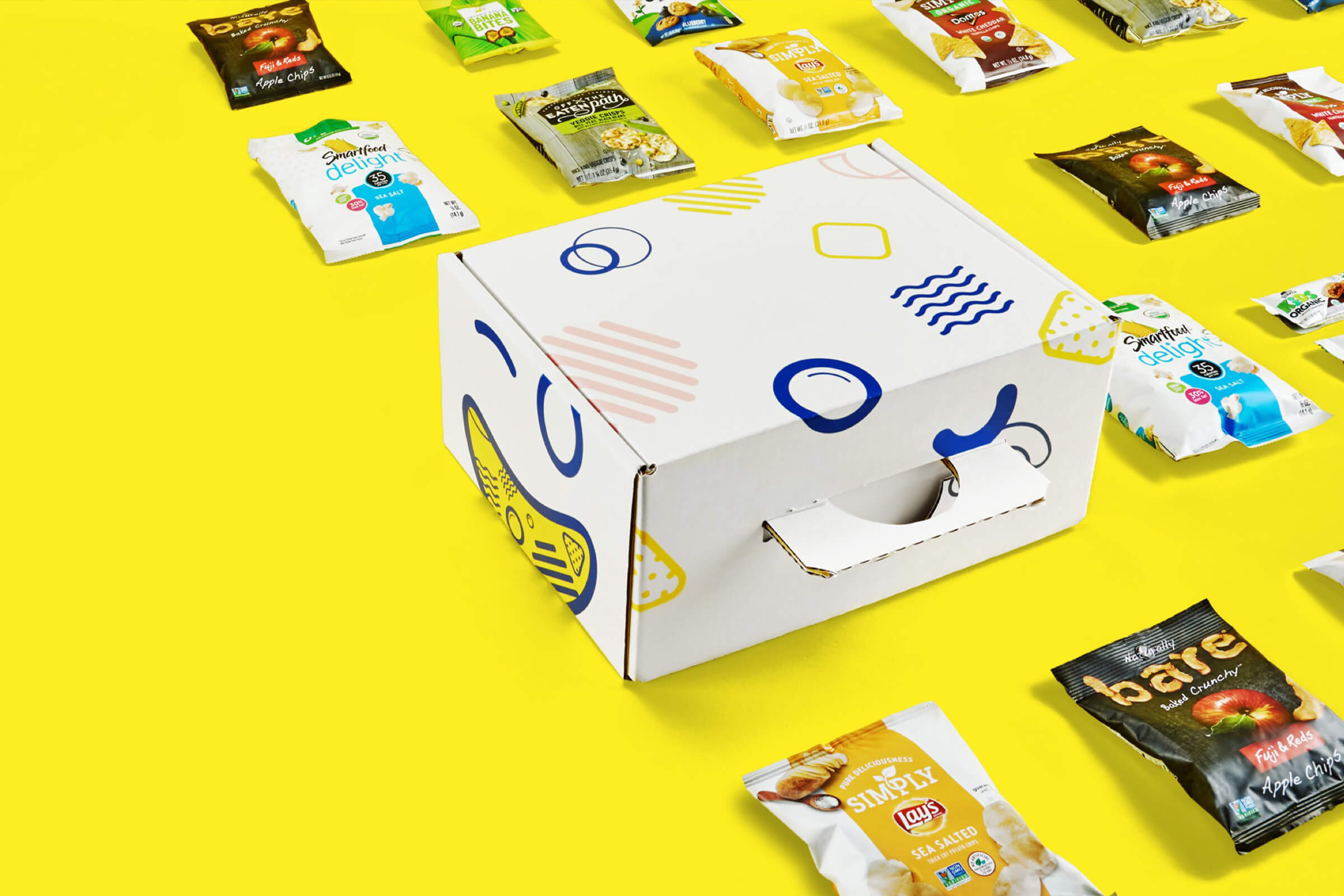 Hello Snacks Branding Art Direction and E-commerce