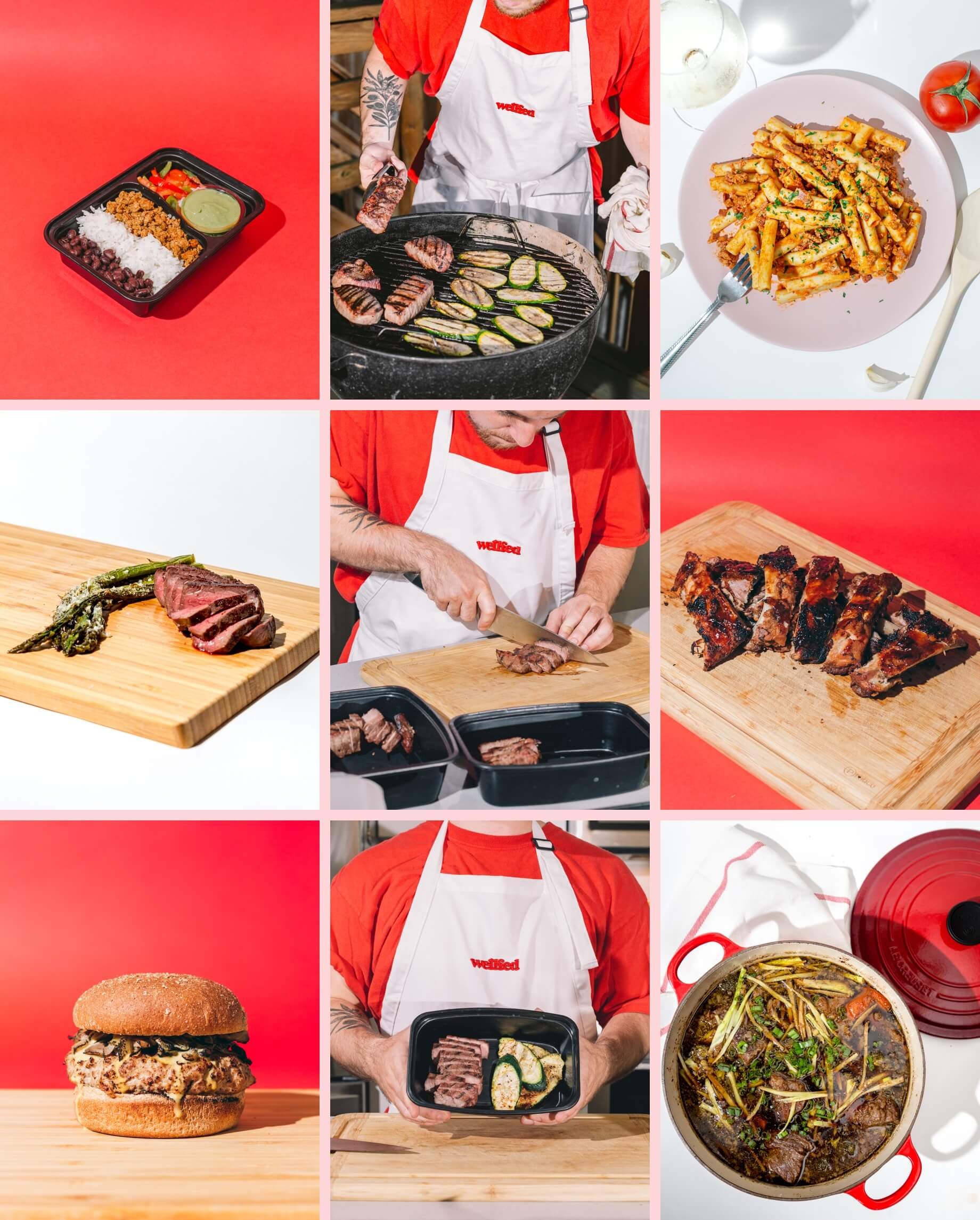 Wellfed Brand Design Photography