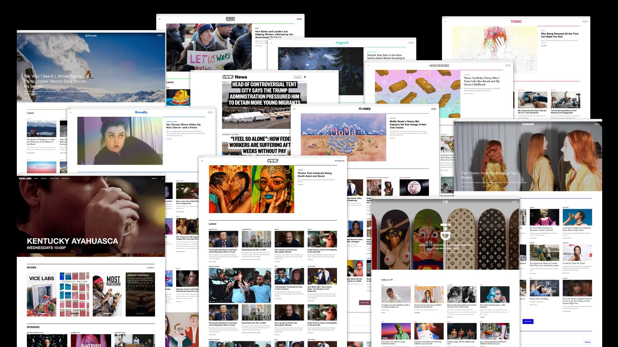 Vice Media Product Design System