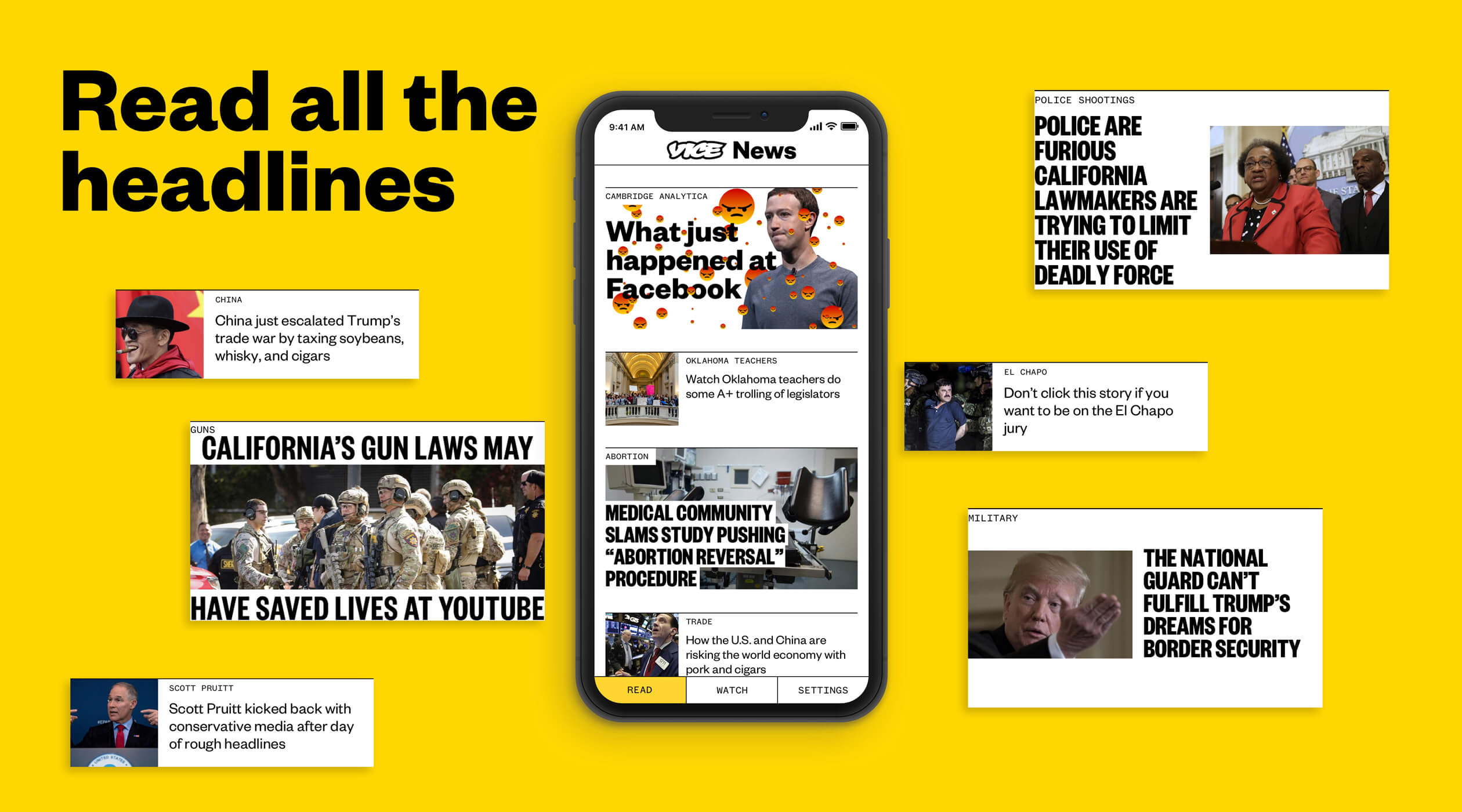 Vice News Mobile App Design & Development