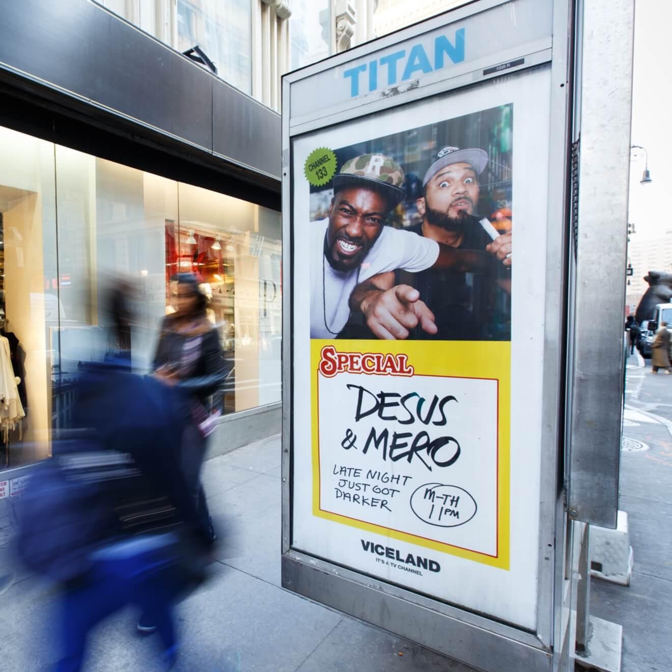 Viceland Show Marketing Desus & Mero Poster 2