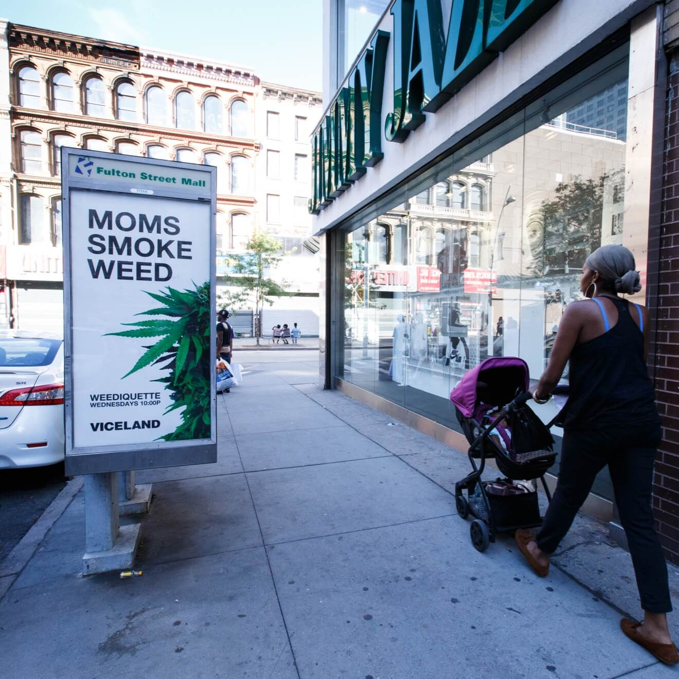 Viceland I Smoke Weed Marketing Campaign Poster