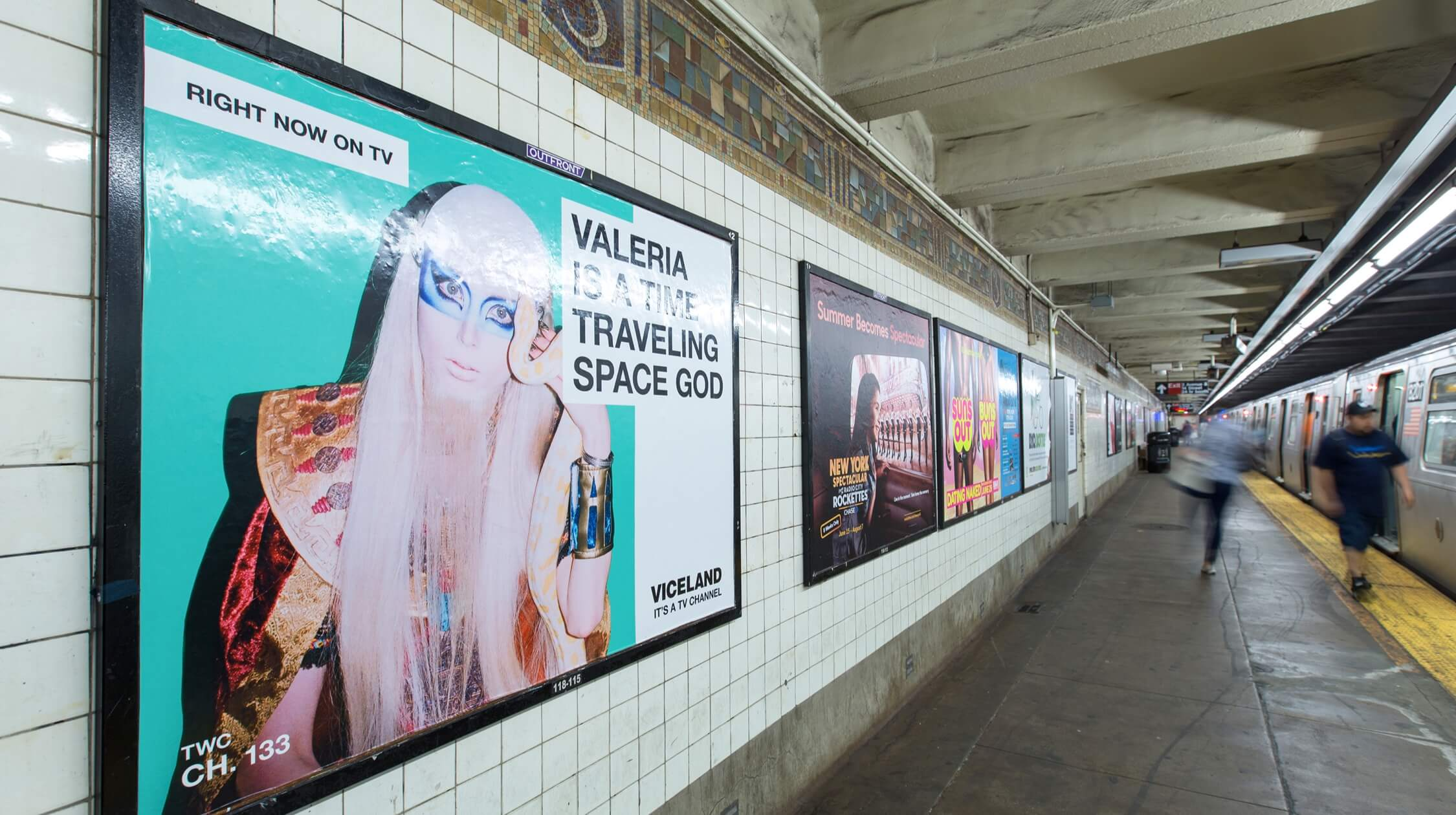 Viceland Marketing Campaign Right Now Subway