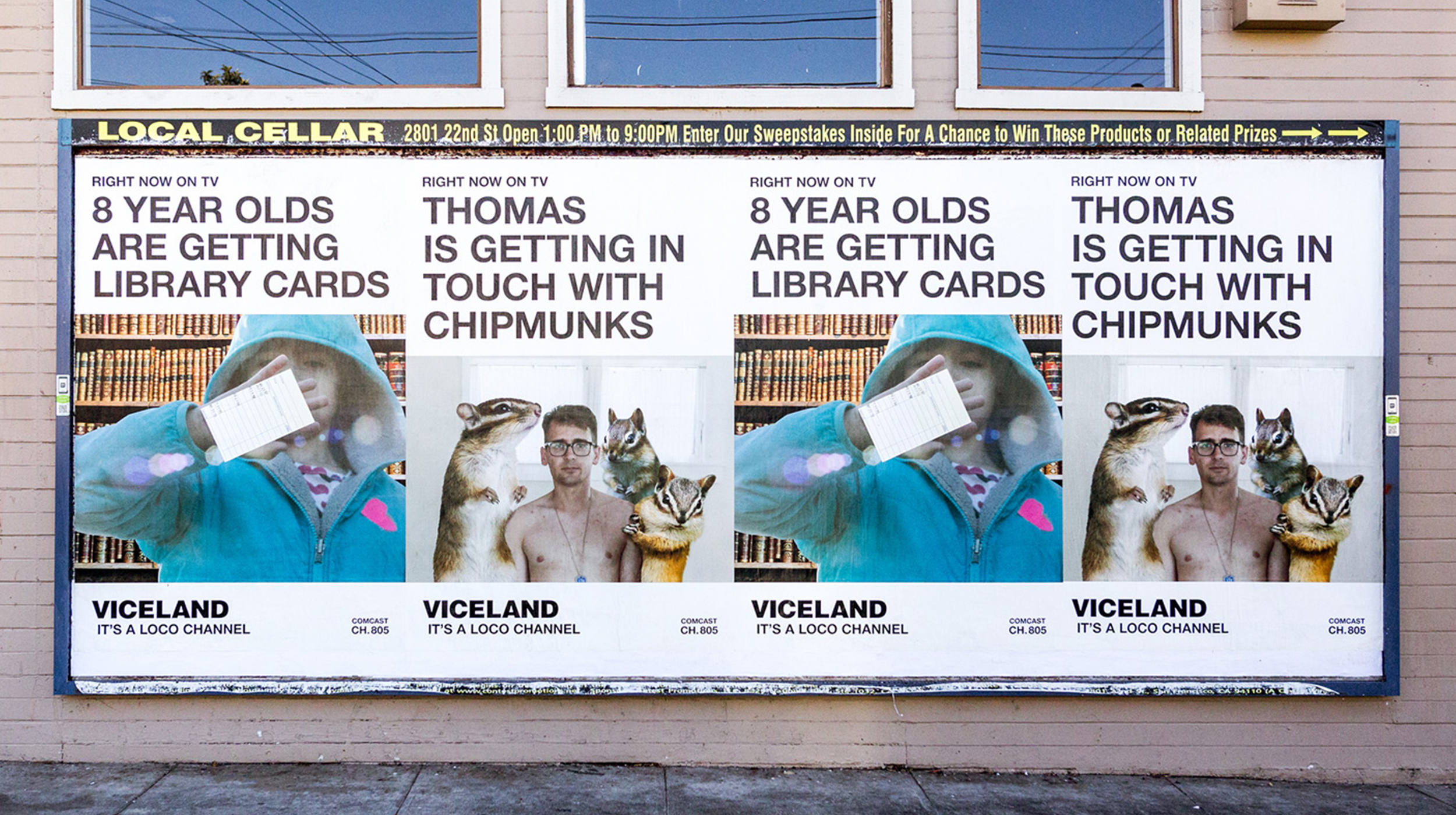 Viceland Right Now Marketing Campaign Updated