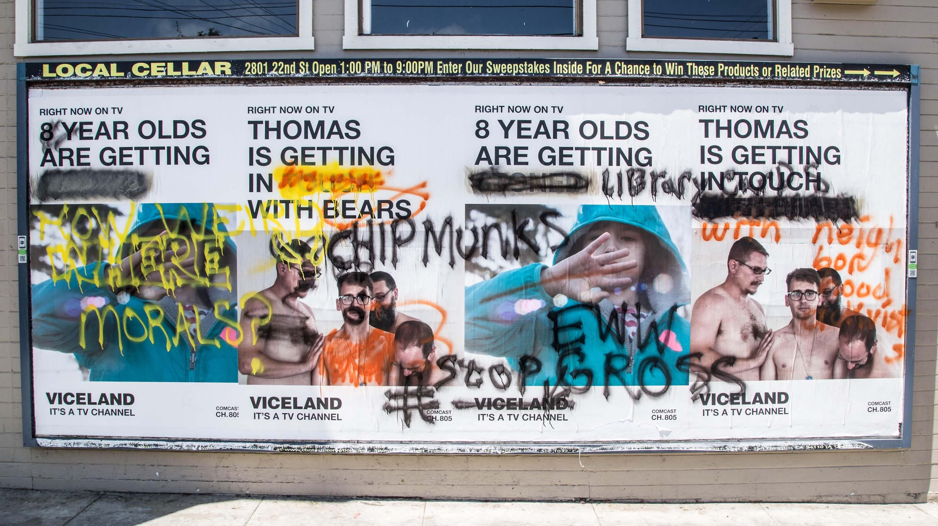 Viceland Right Now Marketing Campaign California