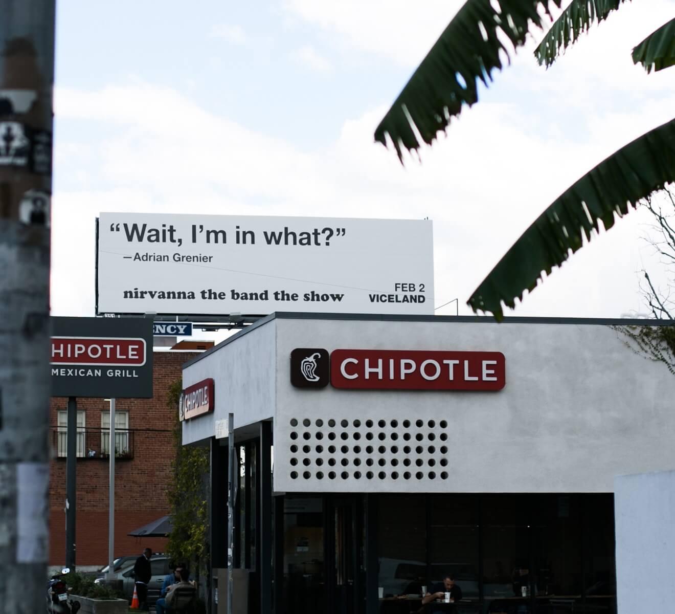 Viceland Show Marketing Billboard