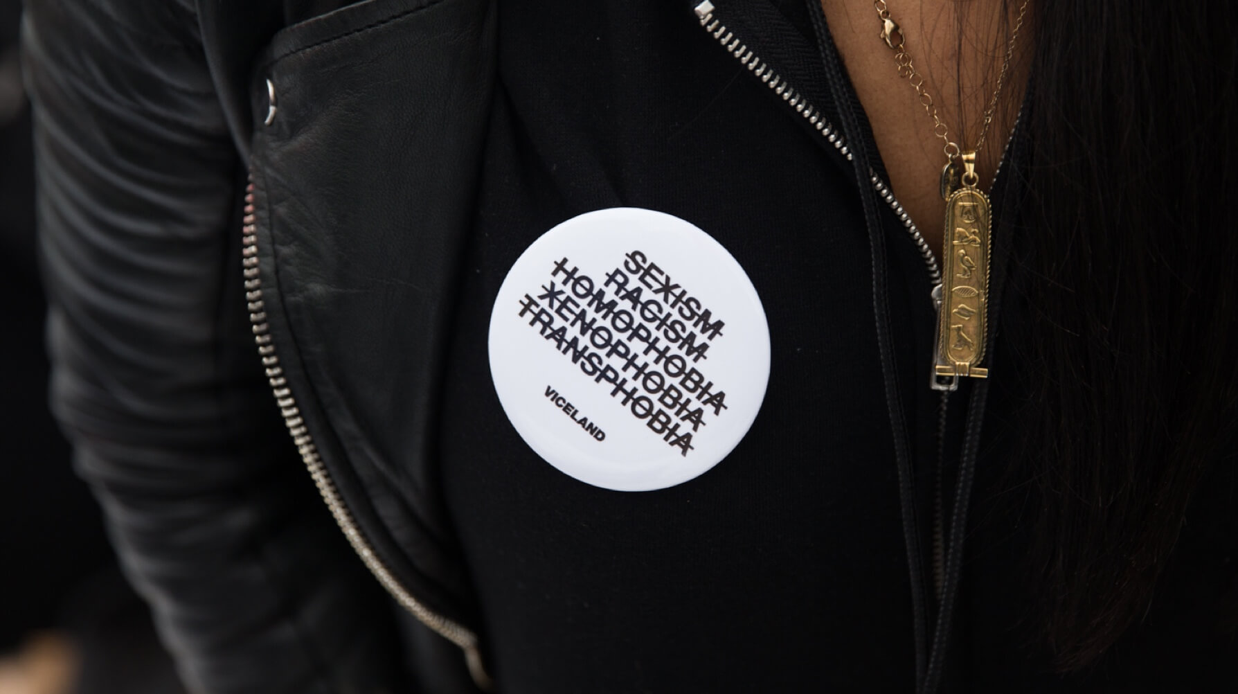 Viceland Womens March Pin