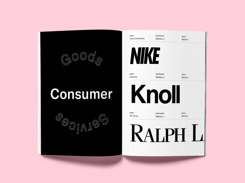 Free Logo Font Guide by Jon Sorrentino