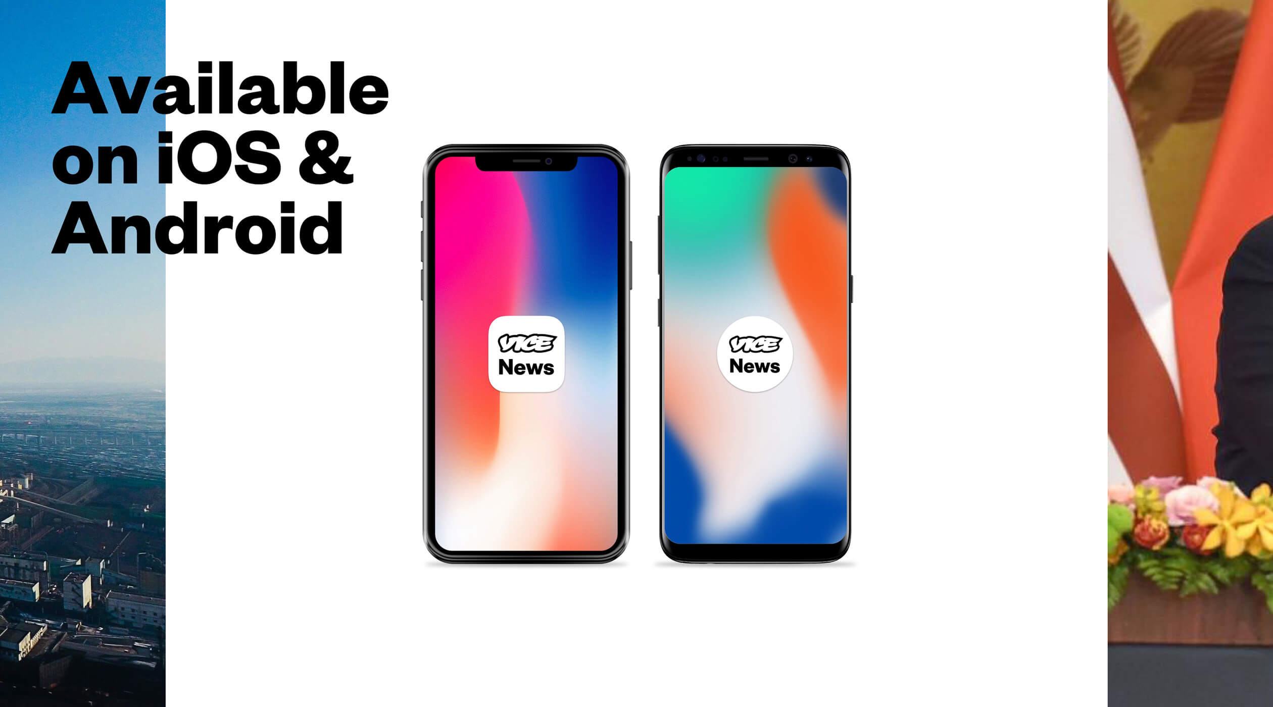 Vice News Mobile App Design & Development